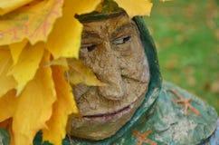 Abuelita rencorosa foto de archivo