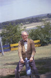 Abuelo de Frank Geiger del fotógrafo Joe Sohm Foto de archivo libre de regalías