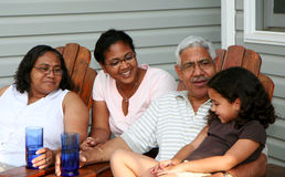 Abuelos foto de archivo libre de regalías