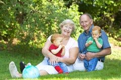 Abuelos Imagen de archivo libre de regalías