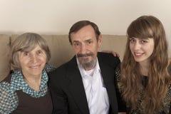 Abuelos felices Imagen de archivo libre de regalías
