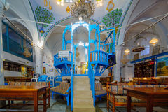 The Abuhav Synagogue, in the Jewish quarter, Safed (Tzfat) Stock Photography