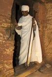 Abuna Yemata Guh, церков Tigray срубленные утесом Массив Gheralta Стоковое Изображение RF