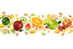 Abundância das frutas imagens de stock royalty free