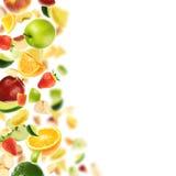 Abundância das frutas fotografia de stock royalty free