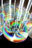 Abundância de CD fotografia de stock