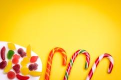 Abundância de doces Imagens de Stock Royalty Free