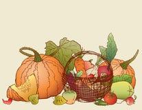 Abundância de outono Fotografia de Stock Royalty Free
