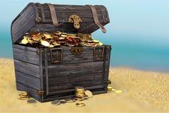 Abundance. Adventure ancient antique background box bright royalty free stock image