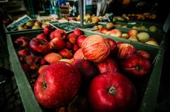 Abundance, Apples, Blur royalty free stock photos