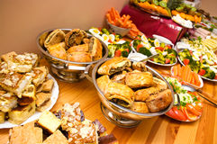 Abundance of food Stock Photography