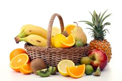 Abundance of fruit Royalty Free Stock Photography