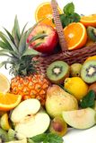 Abundance of fruits Stock Photo