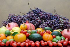 Abundance of fruits Royalty Free Stock Photos