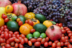 Abundance of fruits. Great abundance of autumn fruits Stock Image