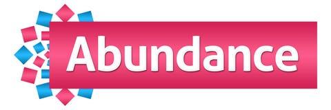 Abundance Pink Blue Circular Horizontal Stock Image
