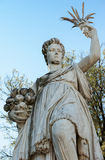 The Abundance statue, in the Boboli Garden, Florence. Florence,  ITALY - July 18, 2017: the statue of Abundance, which was partly sculptured by Giambologna and Stock Photos