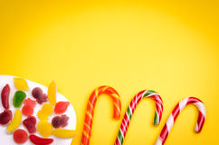Abundance of sweets Royalty Free Stock Images