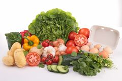 Abundance of vegetable Royalty Free Stock Photo