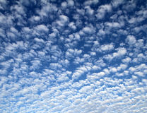 Abundant clouds in the sky Stock Photography