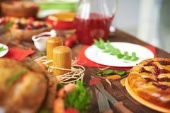 Abundant table Royalty Free Stock Photo