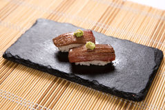 Aburi Otoro (Torched Tuna Belly) Sushi Royalty Free Stock Photos