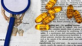 Abus de capsule Images libres de droits