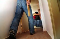 Abus physique Image libre de droits