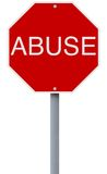 Abuse Royalty Free Stock Photo