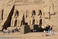 abusimbel Royaltyfria Foton