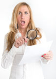Abusive clause Stock Image