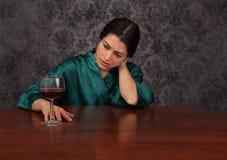 Abuso de alcohol Imagen de archivo
