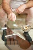 Abuso de drogas múltiplo fotografia de stock