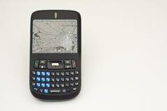 Abuso del teléfono celular Imagen de archivo libre de regalías