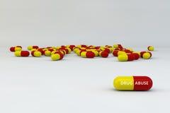Abuso di droga Fotografia Stock Libera da Diritti