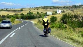 Abwärts radfahren