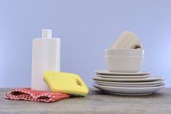 Abwaschreinigungsmittel Lizenzfreie Stockbilder