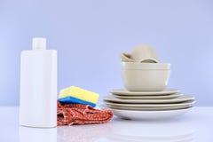 Abwaschreinigungsmittel Stockfoto