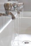 Abwasser der Hähne im College Lizenzfreies Stockbild