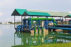 Abwasser-Wasseraufbereitungsanlage Lizenzfreie Stockfotos