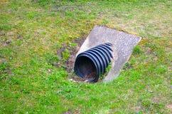 Abwasserabflussrohr Stockfotos