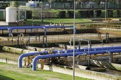 Abwasseranlage Lizenzfreie Stockbilder