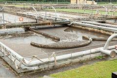 Abwasseraufbereitung Stockfotografie