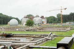 Abwasseraufbereitung Lizenzfreies Stockfoto
