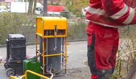 Abwasseraufbereitung, Abwassersystemreinigung Lizenzfreies Stockfoto
