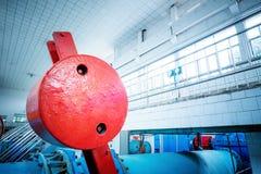 Abwasseraufbereitungsausrüstung Lizenzfreies Stockfoto