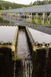 Abwasseraufbereitungssedimentbildung Trinkbares Wasser Lizenzfreie Stockfotos