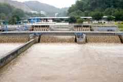 Abwasserbehandlung Lizenzfreie Stockbilder