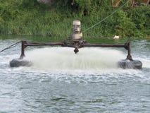 Abwasserbehandlung Stockbild