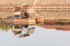 Abwasserbehandlung der Turbinen Stockbilder